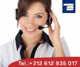 contact telephone rayonnage maroc